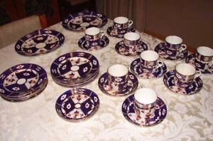 Antique dishes and cups