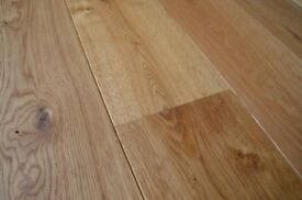 We have 15,000 packs of engineered and solid wood flooring.