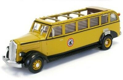 New 1/48  O Scale 1936 White Tour Bus  Yellowstone National Park