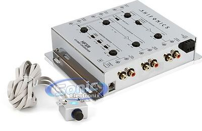 2 Way Active Electronic Crossover (NEW! Hifonics HFXR 2/3-Way Active Electronic Crossover w/ Bass Boost &)