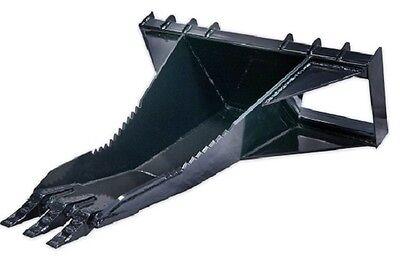 60 Heavy Duty Stump Bucket Skid Steer Loader Attachment Bobcat Gehl Cat Asv Jcb
