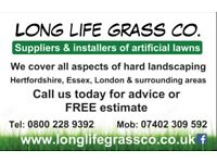 LONG LIFE GRASS COMPANY landscaper, artificial grass , patios , decking