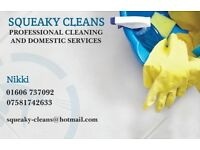 Independant self-employed cleaner, taking on new clients. Based in Cheshire. Competitive rates