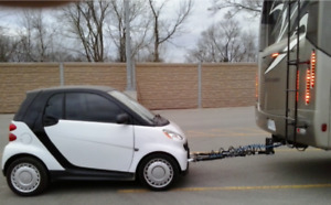 Smart Car already setup for Motor Home Towing, 4wheels down