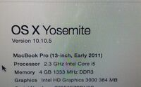 "13"" Apple MacBook Pro for sale"