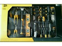 JCB 50 piece full Tool set with carry case for all your professional and DIY needs at home and work