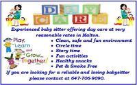 HOME DAYCARE IN MALTON