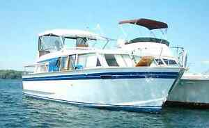 Classic 35' Chris-Craft cruiser in great condition
