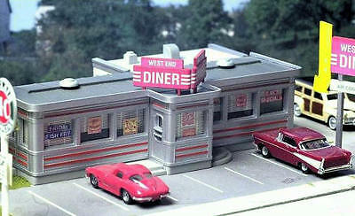 City Classics HO Scale 110 Route 22 Diner Kit New!
