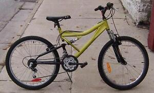 "Pre-Teen Dual Suspension Mtn. Bike 24in. Wheel ""RECONDITIONED"""