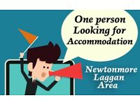 One Person Looking For Accommodation
