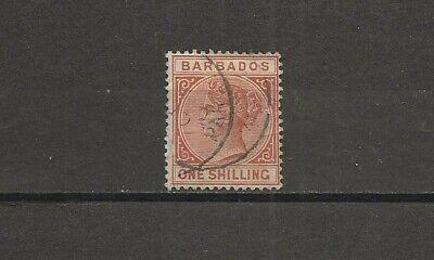 Barbados, Scott 67, Queen Victoria single used