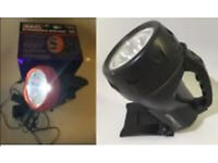 Sealey led436 rechargeable led torch ap pro series cree spotlight free post