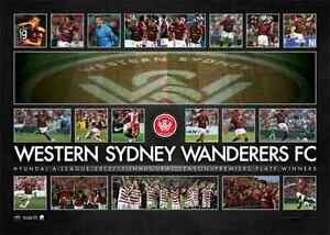 WESTERN-SYDNEY-WANDERERS-Limited-Edition-Premiers-Plate-PRINT-SPECIAL