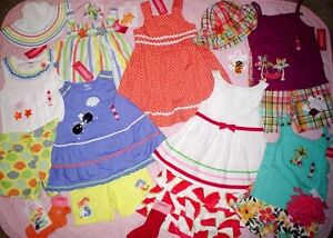 NWT-Gymboree-500-WHOLESALE-lot-GIRLS-outfits-SUMMER-2-3-4-5-6-7-8-9-10-12