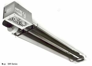 Sunstar 45k Natural Gas Radiant Infrared Tube Garage