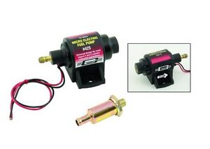 MR GASKET MICRO ELECTRIC FUEL PUMP 2-4 PSI@42GPH 1/8
