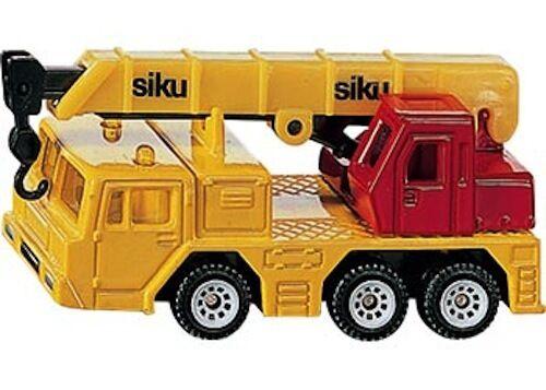 SIKU Hydraulic Crane Small Die-cast Toy Car construction NEW model # 1326