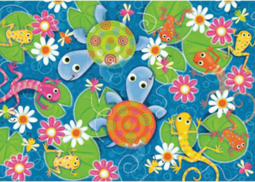 Ravensburger Colourful Reptiles 35 Piece Kids Jigsaw Puzzle RB08762-4