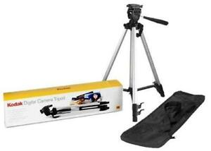KODAK TR501 CAMERA TRIPOD FOR DSLR CAMERA SILVER EXTENDABLE BRAND NEW IN PACKING