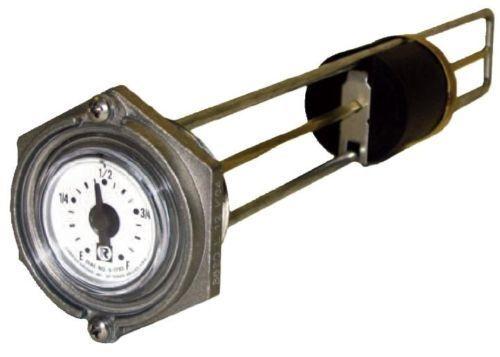 """Rochester 8680 Series Flat Dial Vertical Spiral Fuel Level Gauge x 5.5"""""""
