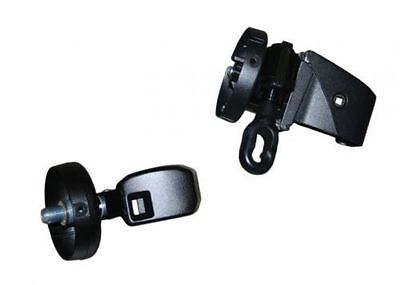 Pioneer Black End Cap Upgrade to Manual Crank Kit for Carefree Pioneer Awnings