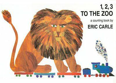 1, 2, 3 to the Zoo: A Counting Book by Eric Carle -