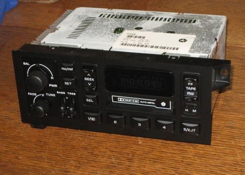 Dodge Ram Radio Ebay