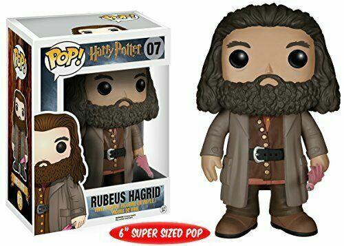 "Funko POP Movies: Harry Potter - Rubeus Hagrid 6 "" Action Fi"