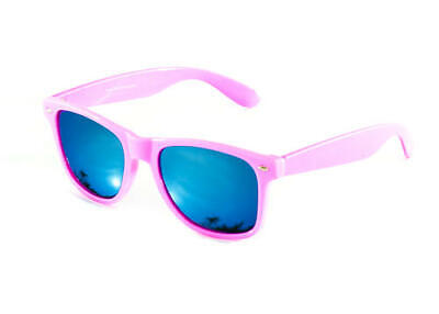 Baby Pink Festival Sunglasses Blue Mirror Mirrored Fashion Wedding Mens Ladies
