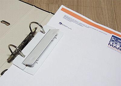 5 Stück Taschenlocher abheftbar Minilocher mobiler Locher für Ordner NEU
