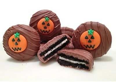 Philadelphia Candies Milk Chocolate Covered OREO® Cookies, Halloween Pumpkin - Pumpkin Halloween Cookies