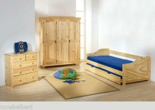 jugendzimmer massivholz m bel wohnen ebay. Black Bedroom Furniture Sets. Home Design Ideas