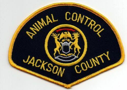 MICHIGAN MI JACKSON COUNTY ANIMAL CONTROL NICE PATCH POLICE SHERIFF