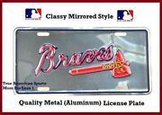 Atlanta Braves Car Tag