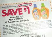 Arm Hammer Coupons
