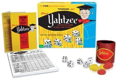 Winning Moves Classic Yahtzee Dice Game  New
