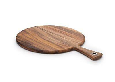 Ironwood Gourmet 28116 Round Provencale Paddle Round, Acacia Wood FREE2DAYSHIP