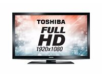 "40"" INCH TOSHIBA HD LED SLIM TV WITH BUILT IN FREEVIEW++DELIVERY IS POSSIBLE++"