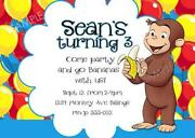 Curious George Invitations