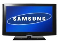 SAMSUNG 32 INCH LCD HD TV WITH BUILT IN FREEVIEW**DELIVERY IS POSSIBLE**