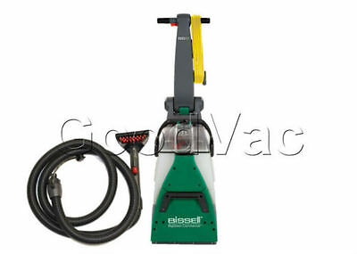 مكنسة غسيل السجاد جديد Bissell Big Green Commercial Carpet Shampooer Extractor Cleaner w/ Attachments