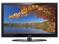 "Samsung 42"" plasma tv full hd 1080 built in free view"