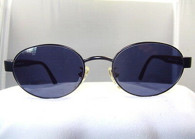 SIERRA CLUB Dark Grey Sunglasses Black Oval Frame