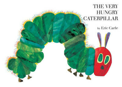 the very hungry caterpillar board book by