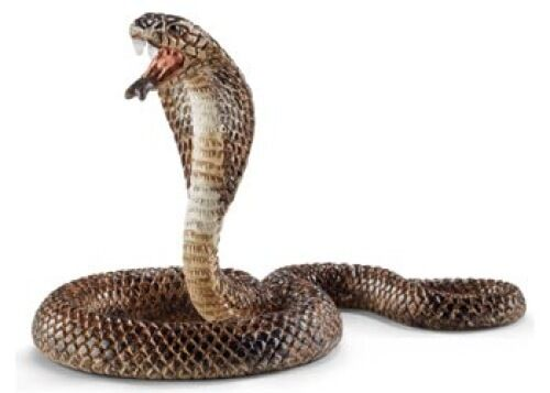 Schleich - Cobra Toy Figure NEW Wild Life snake #14733