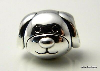 NEW/TAGS  AUTHENTIC PANDORA SILVER CHARM DEVOTED DOG. #791707