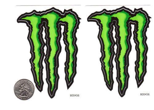 monster energy car stickers ebay. Black Bedroom Furniture Sets. Home Design Ideas