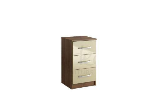 Cream Gloss Bedside Tables