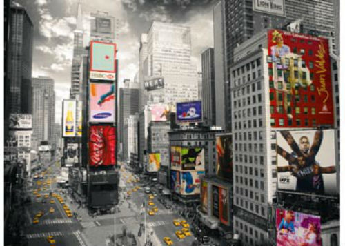 Ravensburger 500 piece Times Square Eye Jigsaw Puzzle RB14504-1
